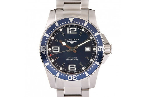 Longines Hydroconquest Blue Dial 41mm Steel