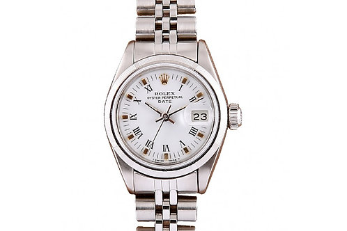 Rolex Datejust Roman White Dial 26mm Steel
