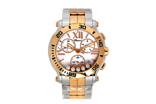 Chopard Happy Sport Chronograph Steel & Rose Gold