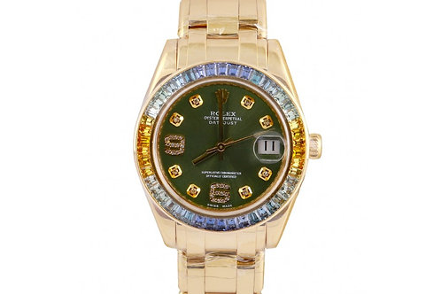 Rolex Pearlmaster Yellow Gold & Diamonds 34mm