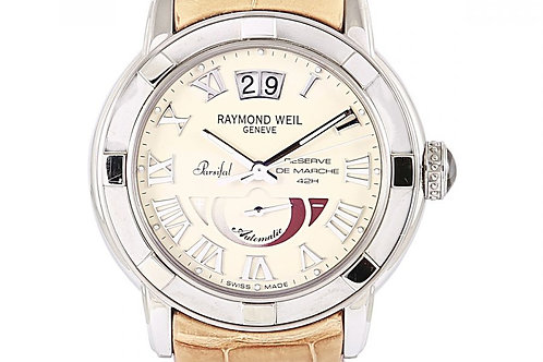 Raymond Weil Parsifal Cream Dial 40mm Steel