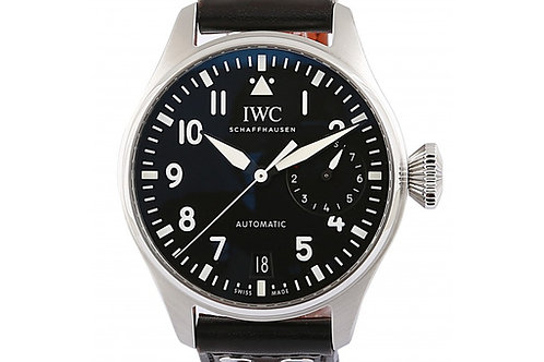 IWC Big Pilot 7 Days Power Reserve Black Dial 46.2 mm Steel