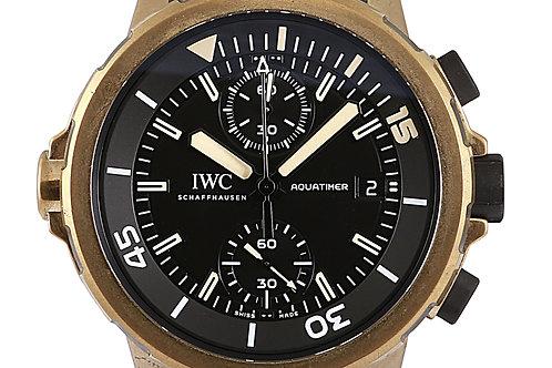 IWC Aquatimer Expedition Charles Darwin Bronze Chronograph 44mm