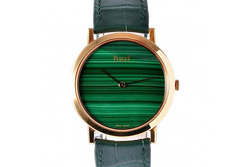 Piaget Altiplano Green Dial 38mm Rose Gold