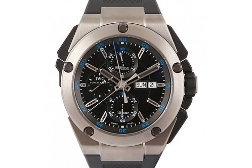 IWC Ingenieur Chronograph Black Dial 45.5mm Titanium