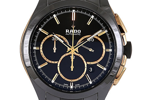 Rado Hyperchrome Chronograph Black Ceramic 45mm