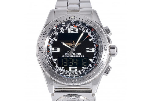Breitling Professional B1 Chronometer Black Digital Dial 43.2 mm Steel