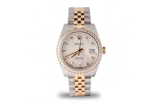 Rolex Datejust Lady 31mm Diamond Dial and Bezel