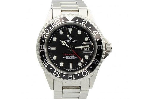 Steinhart Ocean GMT Black Dial 42mm Steel