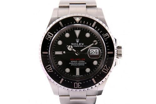 Rolex Sea-Dweller Black Dial Steel 43mm