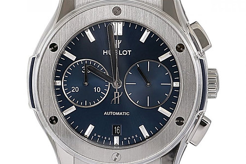 Hublot Classic Fusion Chronograph Blue 45mm