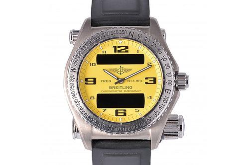 Breitling Emergency Chronometer Digital Dial 43mm Titanium