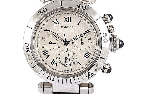 Cartier Pasha Chronograph Steel 38mm