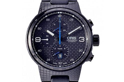 Oris Williams Valtteri Bottas Limited Edition Chronograph Black Dial 44mm Carbon