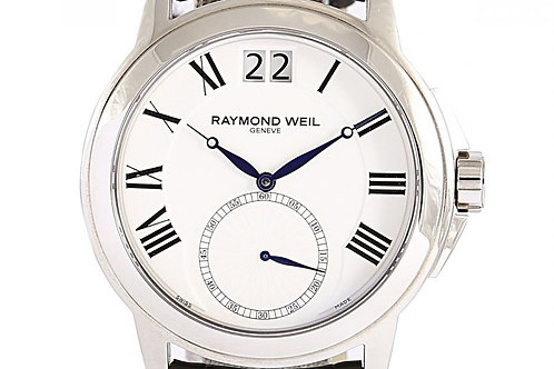 Raymond Weil Tradition White Dial 42mm Steel