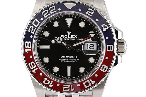 Rolex GMT Master 2 Pepsi 40mm Steel