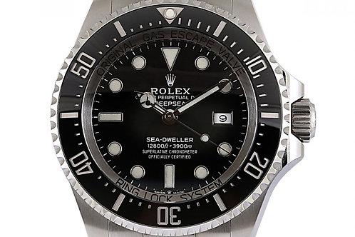 Rolex Deepsea Sea Dweller Black Dial 44mm Steel