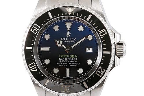 Rolex DeepSea SeaDweller D-Blue Dial James Cameron Edition 44mm