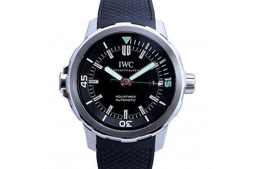 IWC Aquatimer Black Dial 42mm Steel