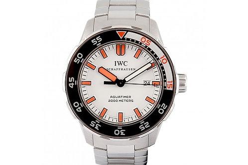 IWC Aquatimer White Dial 44mm SteelIWC Aquatimer White Dial 44mm Steel