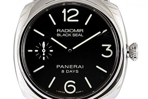 Panerai Radiomir Black Dial 45mm Steel