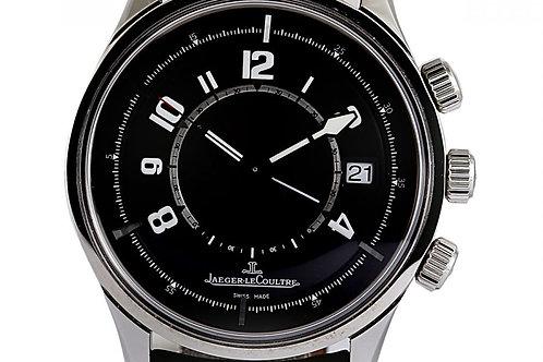 Jaegar LeCoultre Aston Martin Memovox Special Edition Black Dial 42mm Steel