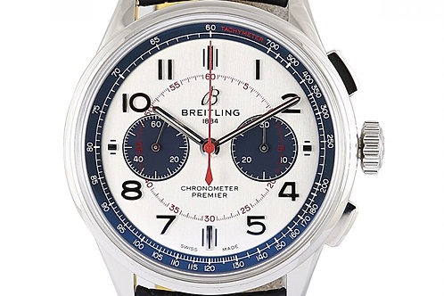 Breitling B01 Bentley Mulliner Limited Edition Chronograph Silver Dial 42mm