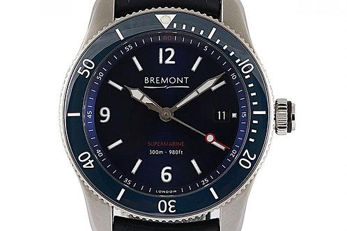 Bremont S300 Blue Supermarine Blue Dial 40mm Steel