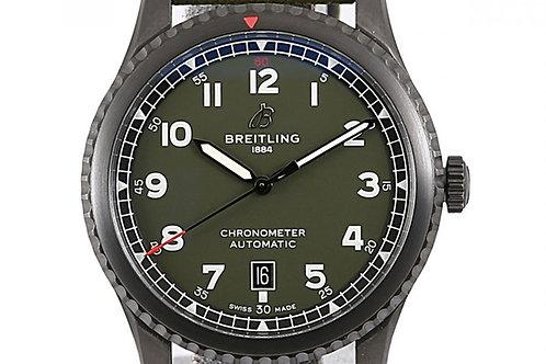Breitling Aviator 8 Curtis Warhawk Green Dial 41mm Steel