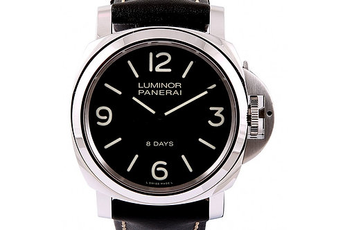 Panerai Luminor Base 8 Days Acciaio 44mm Steel