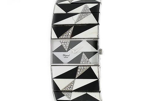 Chopard White Gold and Diamond Watch Bracelet 29mm