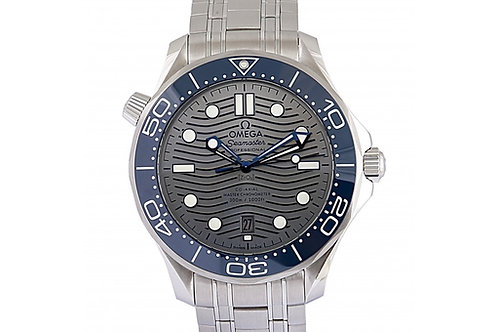 Omega Seamaster Diver 300m Grey Dial 42mm Steel