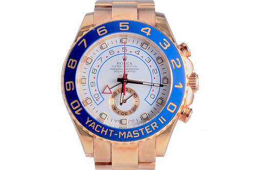 Rolex Yacht-Master II White Dial 44mm Yellow Gold