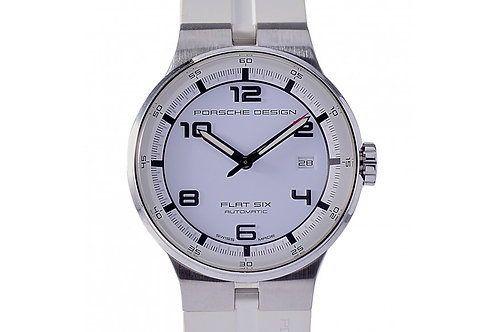 Porsche Design Flat Six White Dial 40mm Steel
