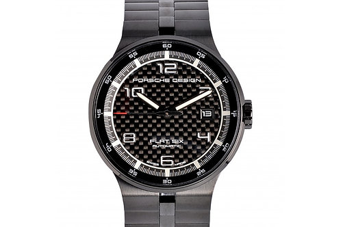 Porsche Design Flat Six Black Dial 40mm PVD Steel