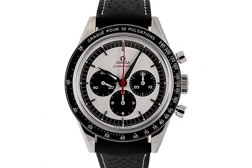Omega Speedmaster Moonwatch Chronograph Silver Dial 39.7mm Steel