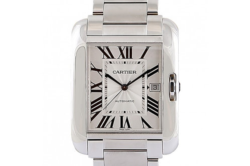 Cartier Tank Anglaise Steel