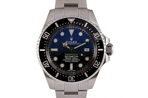 Rolex Deepsea Sea-Dweller James Cameron Blue-Black Dial 44mm Steel