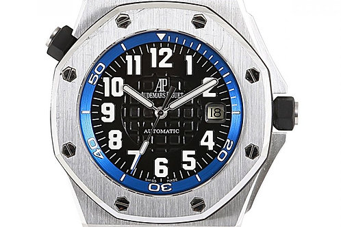 Audemars Piguet Royal Oak Offshore Scuba Boutique Edition Black Dial 44mm Steel