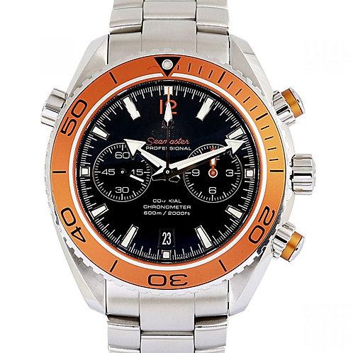 Omega Seamaster Planet Ocean 600M Chronograph Black Dial 45.5mm Steel