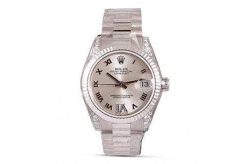 Rolex Datejust 31 White Gold & Diamonds