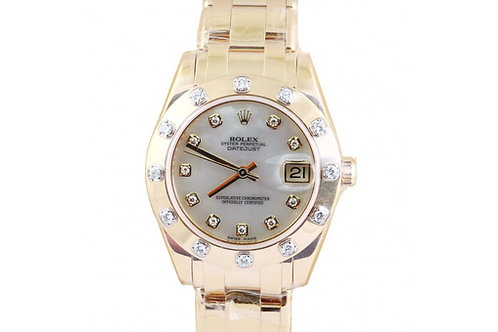 Rolex Pearlmaster Yellow Gold & Diamonds 34mm