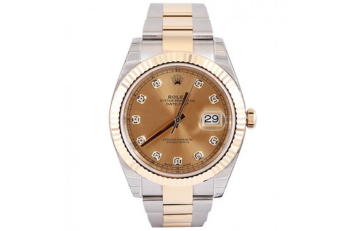 Rolex Datejust Oyster Perpetual 41mm Steel & Yellow Gold
