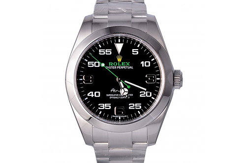 Rolex Oyster Perpetual Air-King Black Dial 40mm Steel