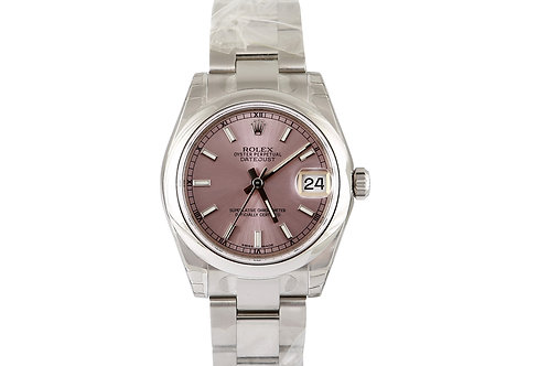 Rolex Datejust 31mm Pink Dial