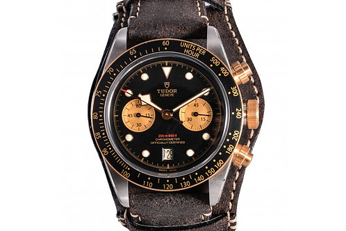 Tudor Black Bay Chronograph Black Dial 41mm Steel & Yellow Gold