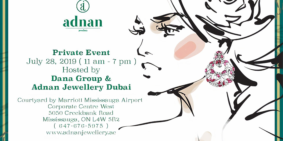 Private Event Hosted by Dana Group & Adnan Jewellery LLC