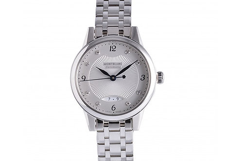 Montblanc Boheme Silver Dial With Diamonds 29mm Steel