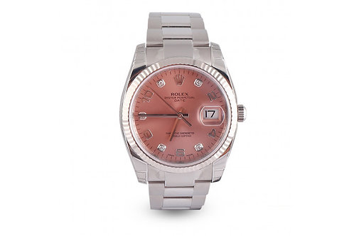 Rolex Oyster Perpetual Date 34 Steel & White Gold