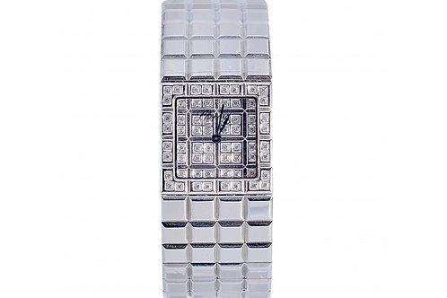 Chopard Ice Cube Diamond Dial 22mm Steel & Diamonds